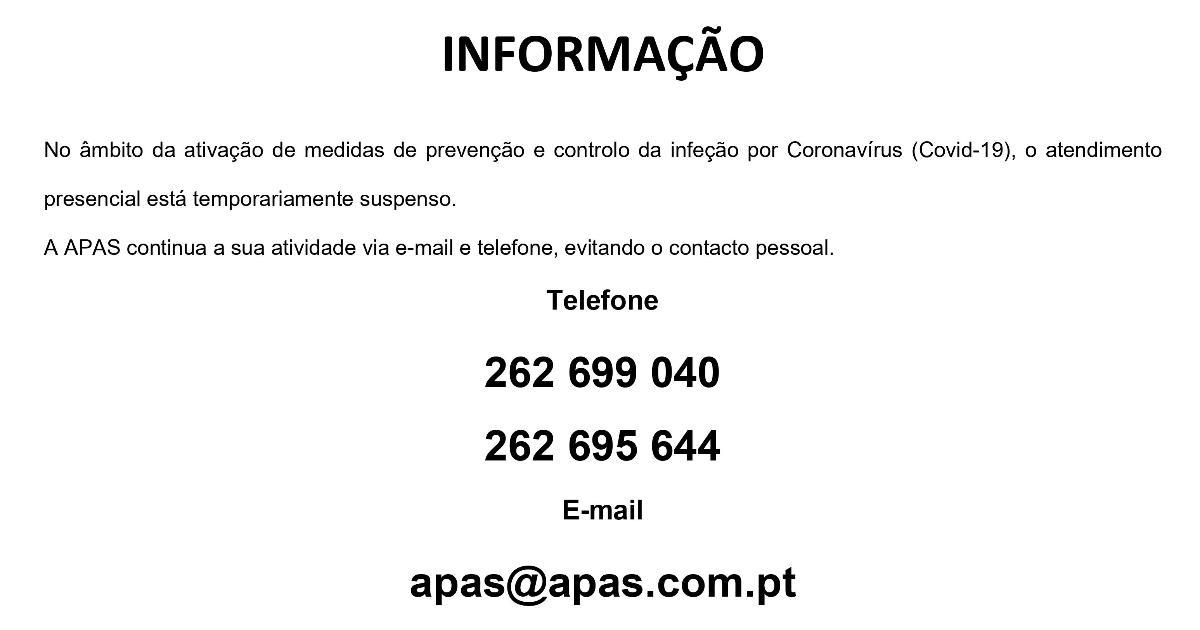 COVID 19 - SUSPENSÃO DO ATENDIMENTO PRESENCIAL